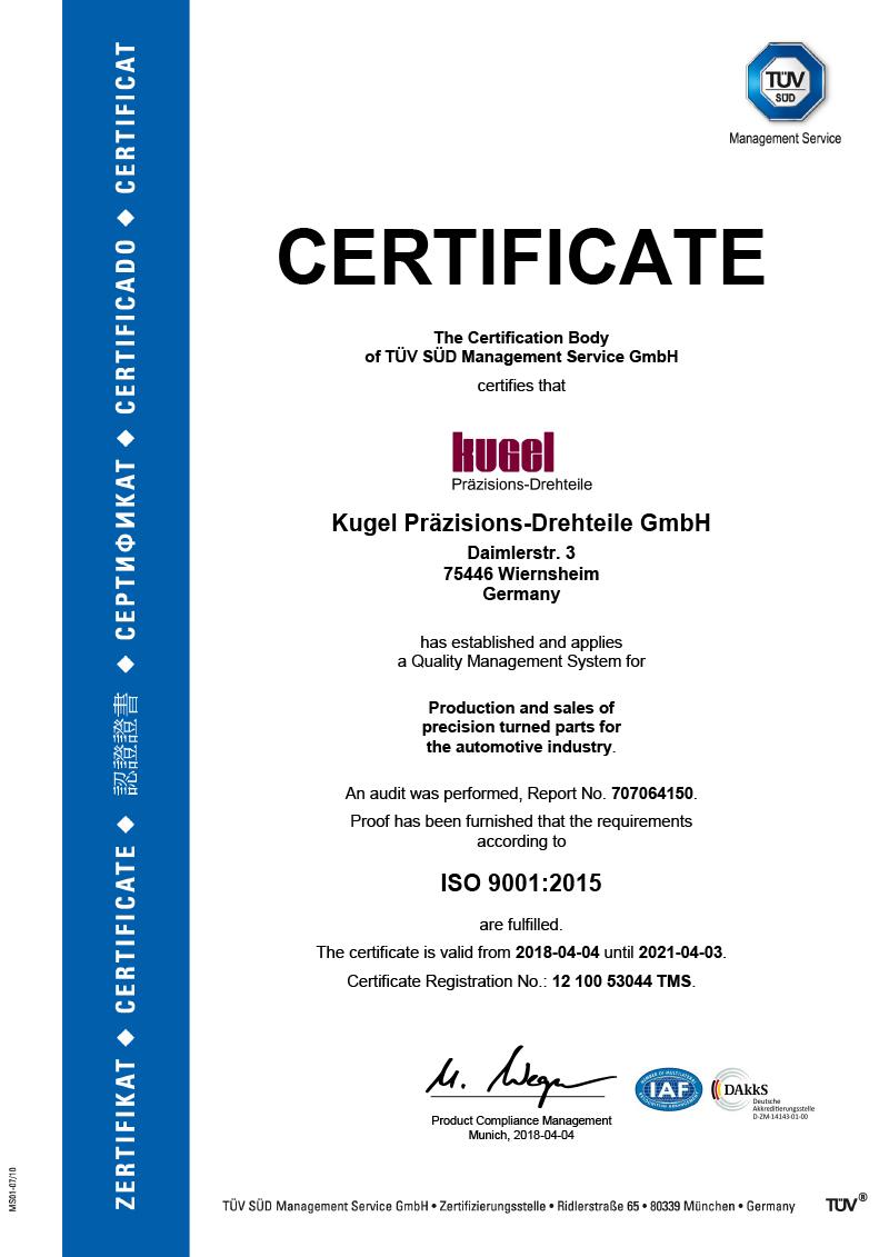 ISO 9001:2015, english