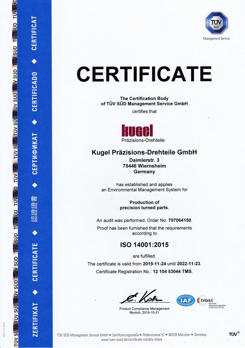 ISO 14001:2015, english