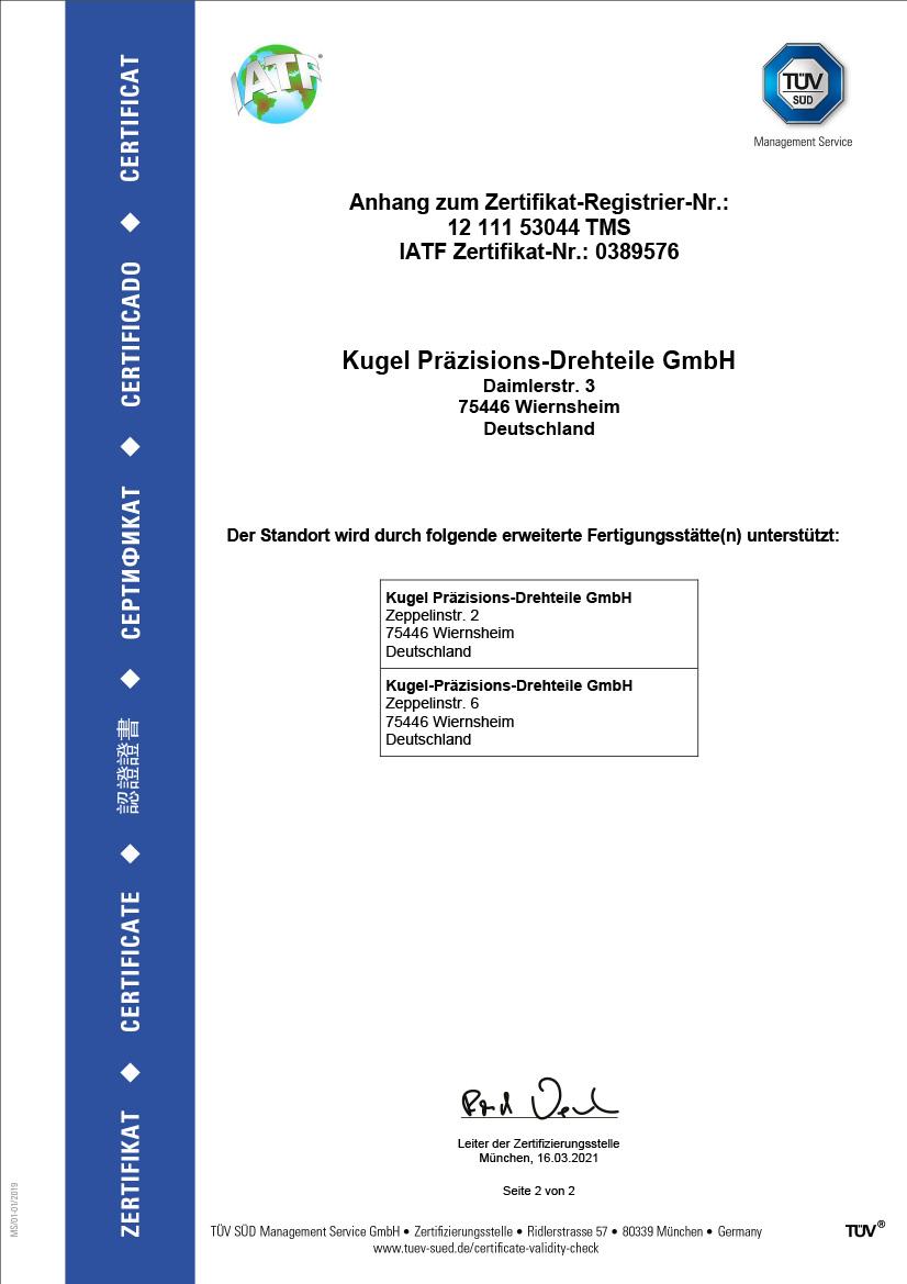 IATF 169499, deutsch, Seite 2